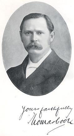 "Evangelist Thomas Cook at about age 42; picture taken just before the publication of ""New Testament Holiness"" in 1902."