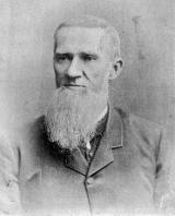 Rev. Isaiah Reid (1836-1911), circa 1894, founder of the Iowa Holiness Association.