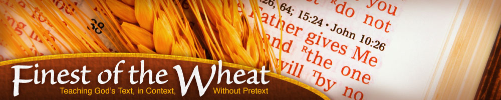 Finest of the Wheat header image