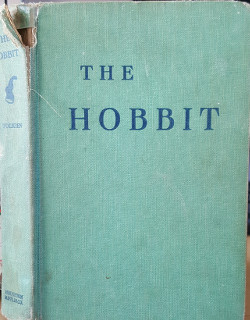 Jim Kerwin's battered copy of the Hobbit