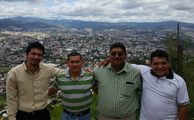 Pastors Nelson Mendez, Javier Cruz, Arturo Hernandez, and Angel Cruz