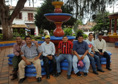 Honduran pastors enjoying an afternoon visit to Valle de Angeles