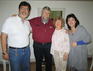 Jorge and Janine Watanabe with Jim and Denise Kerwin