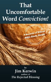 Cover of Jim Kerwin's message 'That Uncomfortable Word - Conviction!'