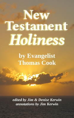 Image of the book cover of 'New Testament Holiness' by Thomas Cook, edited by Jim & Denise Kerwin