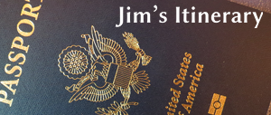 Photo of Jim Kerwin's passport