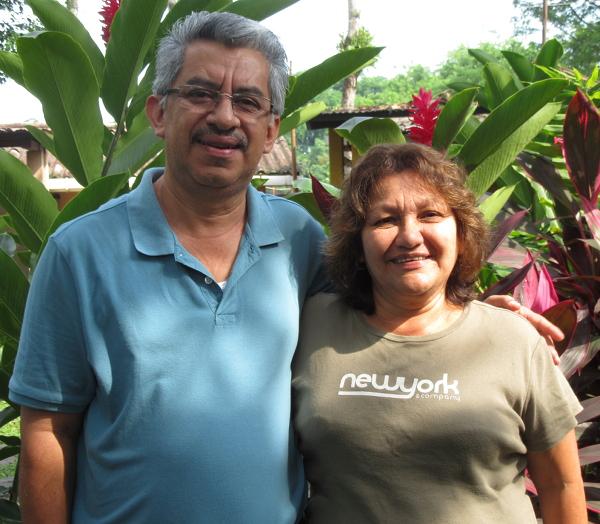 Atilio Chávez and Gladys de Chávez