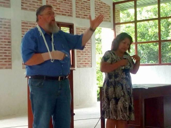 Jim Kerwin and Gladys de Chávez