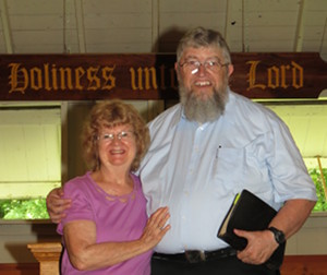 Denise & Jim Kerwin at the Iowa Holiness Association Camp 2018