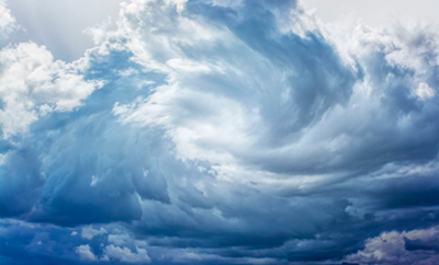 Image of a wind-blown cloud formation, used under license from https://www.123rf.com/profile_sondem.
