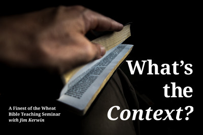Link to our 'What's the Context' Course page.