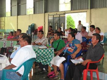 Pastors at a seminar in Betania, Guatemala