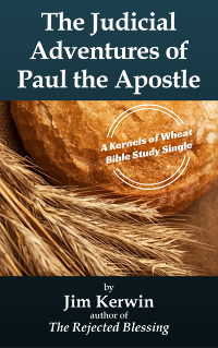 Cover the Bible study 'The Judicial Adventures of Paul the Apostle'
