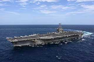 Photo of the U.S.S. Harry S. Truman at sea, courtesy U.S. Navy (via Wikipedia.org)