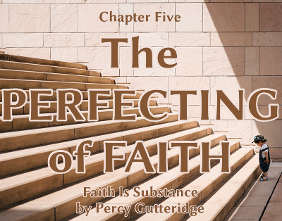 Chapter title image for 'The Perfecting of Faith,' using a background photo by Mikito Tateisi on Unsplash (https://unsplash.com/@tateisimikito)