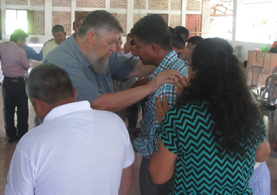 Praying with pastors