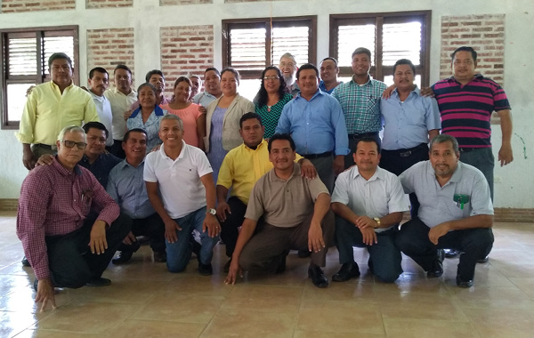 Pastors and pastoras gathered for ESUM 2019 in Guatemala