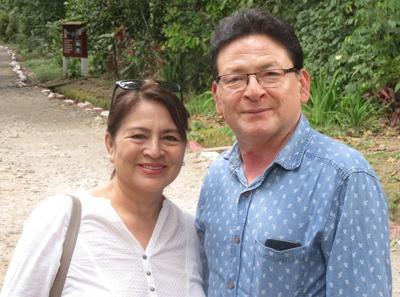 Samuel y Genita Santa María