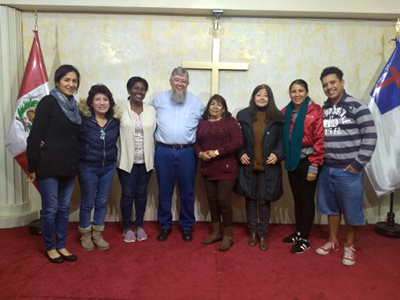 Leaders in training in Lima, Perú