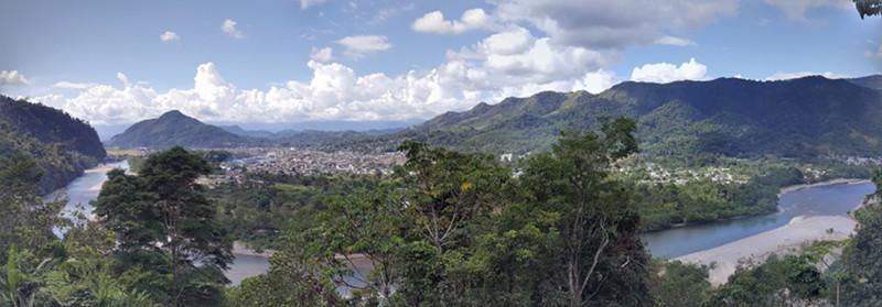 Tingo María's beautiful panorama