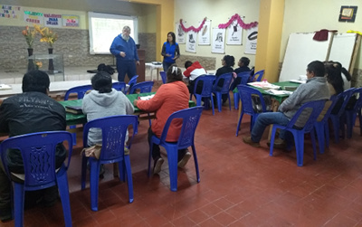 Teaching in Ventanilla