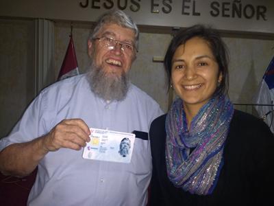 Jim Kerwin with Deysi West