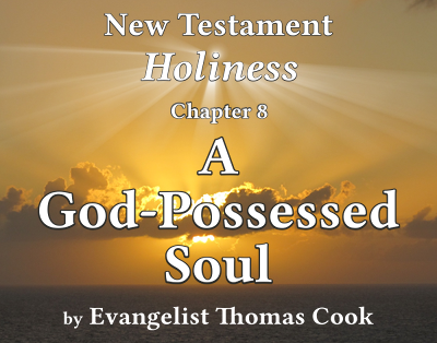 Graphic for the title of this chapter, 'A God-Possessed Soul', part of the book 'New Testament Holiness' by Thomas Cook