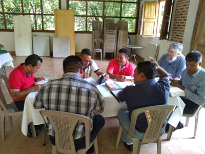 Photo of Guatemalan pastors at a teaching retreat