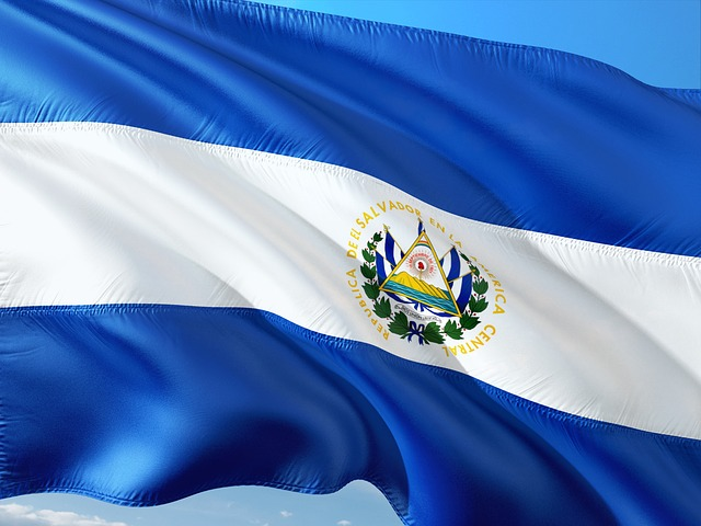 Photo of the flag of El Salvador, courtesy of Pixabay.com