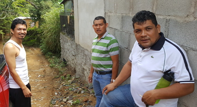 Three Honduran pastors
