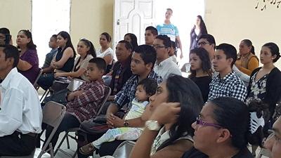 Seminar participants in Tegucigalpa