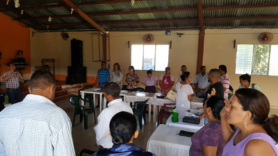 Pastors and leaders in Yoro, Yoro, Honduras