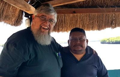 A photo with Pastor Alfredo Barahona of San Lorenzo, Honduras