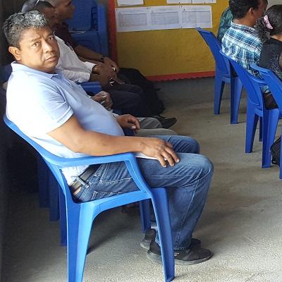 Pastor Gustavo Valladares of Oropoli, Honduras