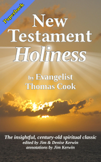 Cover of the paperback book 'New Testament Holiness' by Thomas Cook