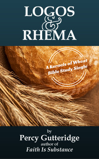 Cover of the Bible study 'Logos & Rhema' by Percy Gutteridge