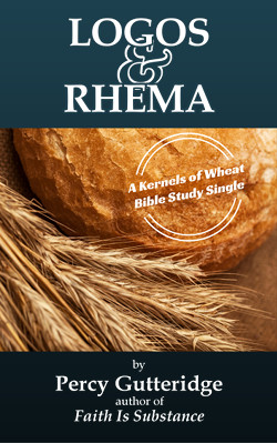 Cover of the e-booket 'Logos & Rhema' by Percy Gutteridge