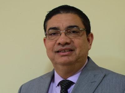 Photo of superintendent Pedro Pablo Rojas