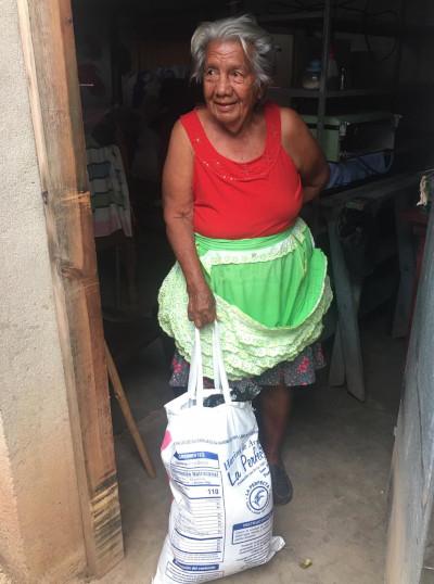 A woman in rural Nicaragua