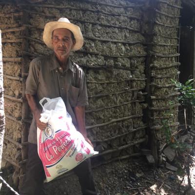 Man in rural Nicaragua