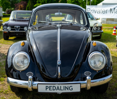 Photo of an early-1960s VW 'bug'