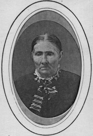An 1888 photo of Jemima McKnight Reid