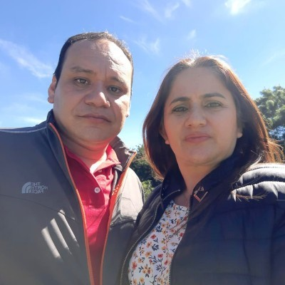 Photo of a Guatemalan husband-wife pastoral team