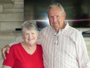 Photo of Sue Strickland (left) and Al Strickland (right)