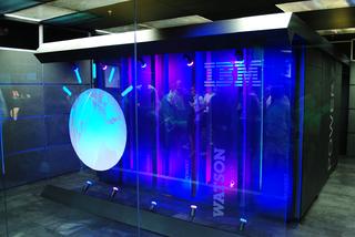 Photo of the 2011 iteration of IBM's 'Watson' supercomputer