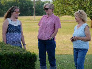 Photo (left to right) of Kathy Bennett, Colleen Donnelly, and Denise Kerwin